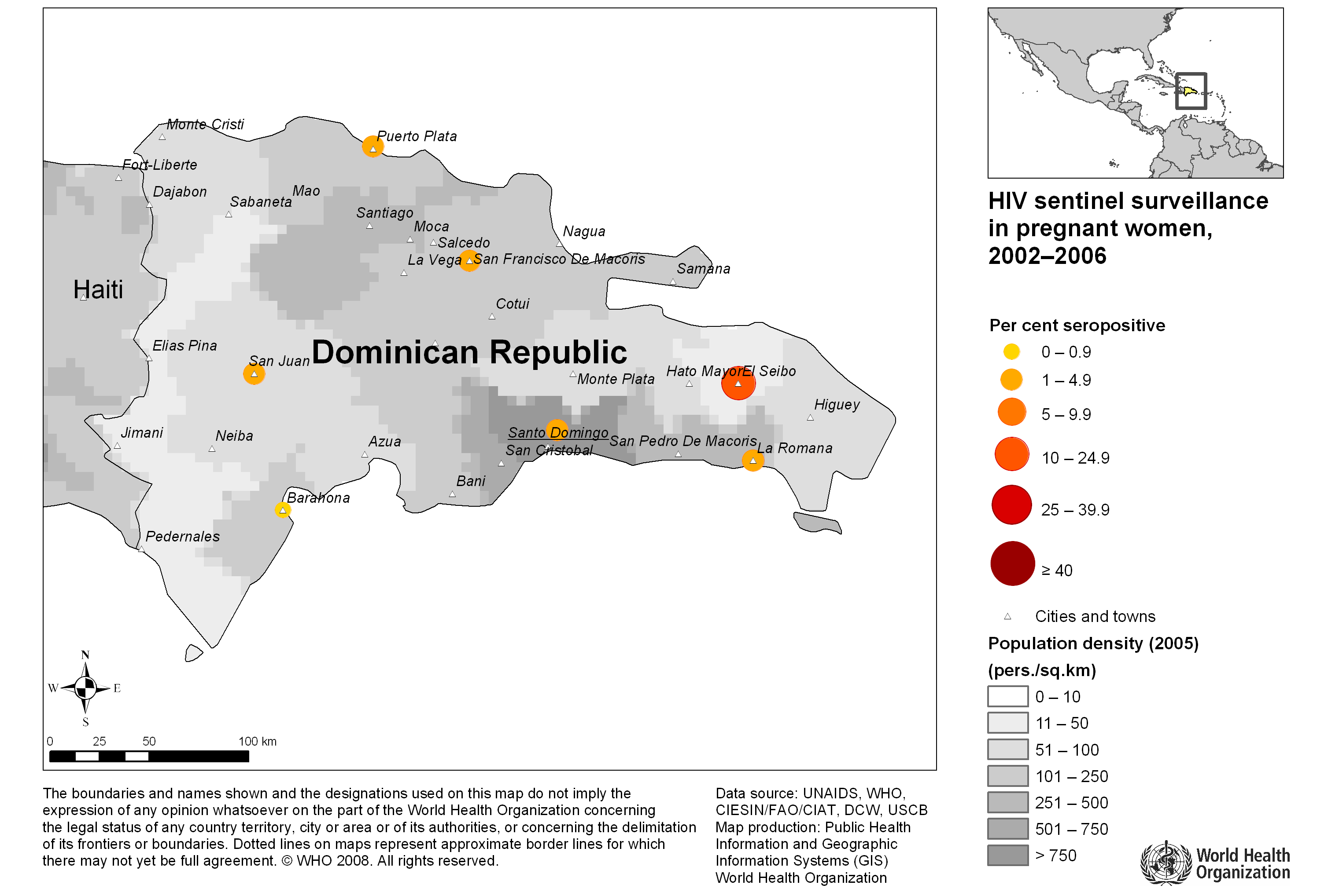 maps of the Dominican Republic a link atlas