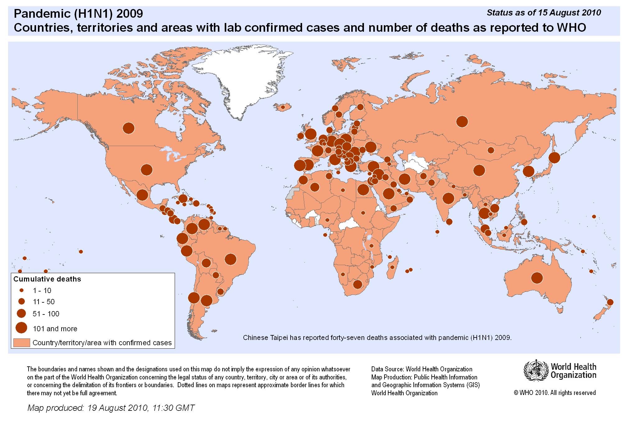 Comparaison: pandémie de grippe H1N1 2009 et pandémie de coronavirus 2020