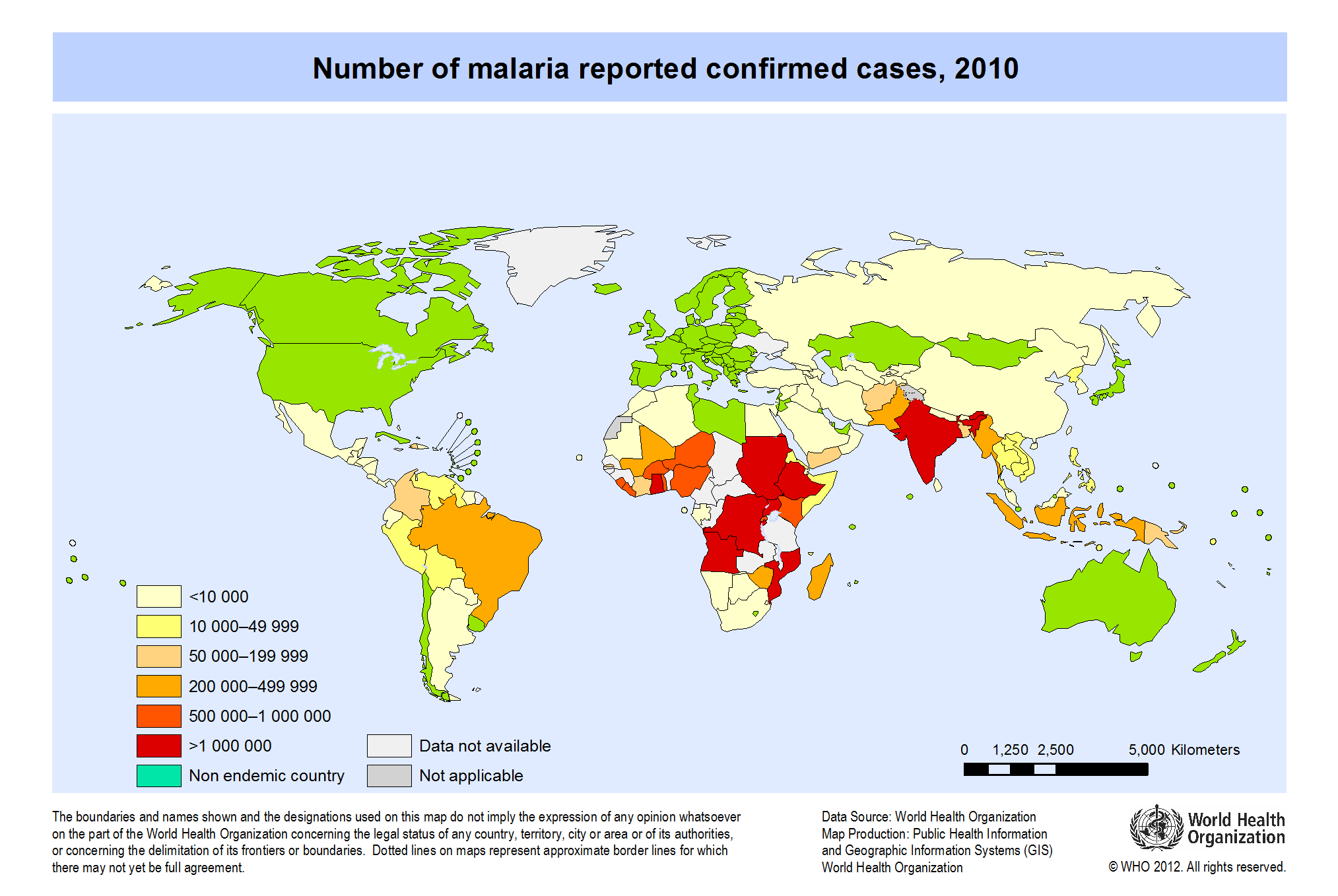 World: Number of malaria reported confirmed cases, 2010 ... on cdc anthrax map, cdc obesity map, cdc travel, cdc histoplasmosis map, cdc hepatitis a map, cdc location on map, cdc chikungunya map, cdc interactive map, world map, cdc rocky mountain spotted fever map, cdc immunization map, cdc maps may 2014, cdc water contamination map, cdc african trypanosomiasis map, cdc 5 moments, cdc ebola map, bubonic plague map, cdc coccidioidomycosis map, cdc measles map, cdc dengue map,