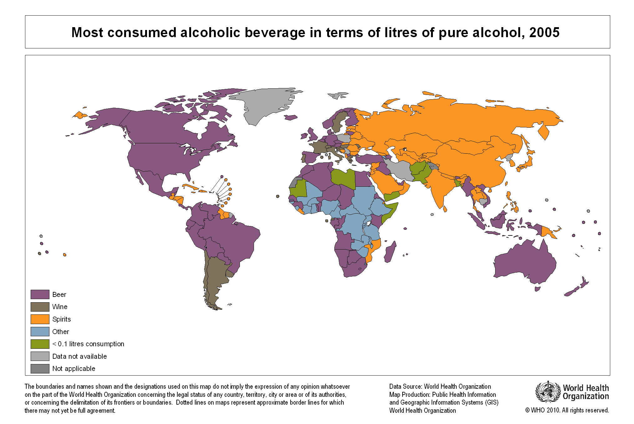 os In Map Of Alcohol Most Consumed 2005 Litres Beverage Alcoholic 2027x1358 Mapporn Pure Terms World
